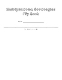 Basic Multiplication Strategy Flip Book and Worksheet