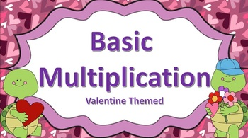 Basic Multiplication Task Cards (Valentine Themed)