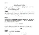 Basic Multiplication Tricks