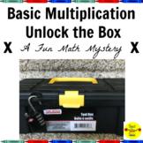 Basic Multiplication Unlock the Box: A Fun Math Mystery