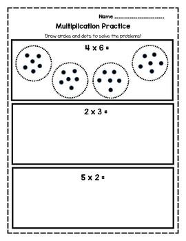 Basic Multiplication Worksheet Packet
