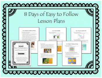 Basic Multiplication and Division Unit - Print and Go!