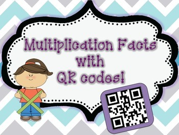 Multipliction Task Cards with QR Codes