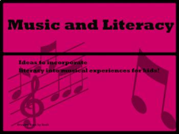 Basic Music Literacy