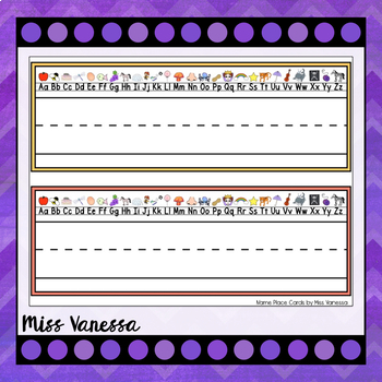Printable Name Place Cards