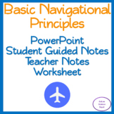 Basic Navigational Principles: PowerPoint, Student Guided Notes, Worksheet