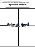 Basic Needs of Living Thing