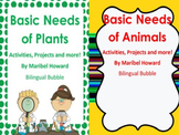 Basic Needs of Plants and Animals Bundle