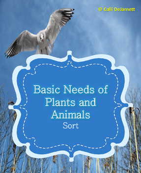 Basic Needs of Plants and Animals Sort