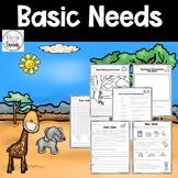 Basic Needs of living organisms