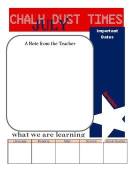 Basic Newsletter 12 Months