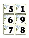 Basic Number Bingo - Counting to 9