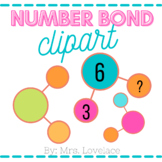 Basic Number Bond Clip Art:  15 png clipart files