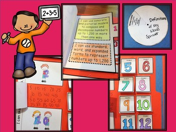 Basic Number Concepts: Interactive Notebook or Lapbook