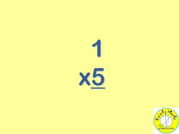 Basic Number Facts Warm Up PowerPoints Multiply and Divide 0 and 1