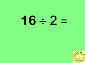 Basic Number Facts Warm Up PowerPoints Multiply and Divide 2