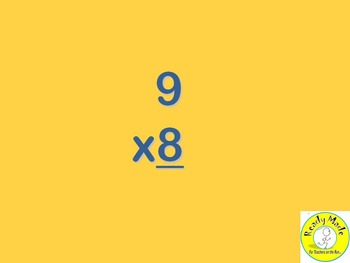 Basic Number Facts Warm Up PowerPoints Multiply and Divide 8