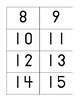 Basic Number Flashcards 0-100