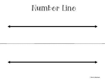 Freebie: Basic Number Line