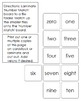 Basic Number Matching File Folder Game