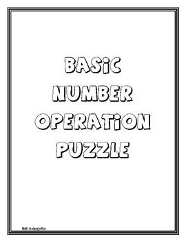 Basic Number Operation Puzzle