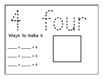 Basic Number Practice 1-10