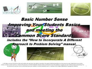 Basic Number Sense: Improving Your Student's Basics