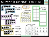 Basic Number Sense with Tens Frame