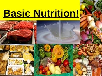 Basic Nutrition Power Point Presentation