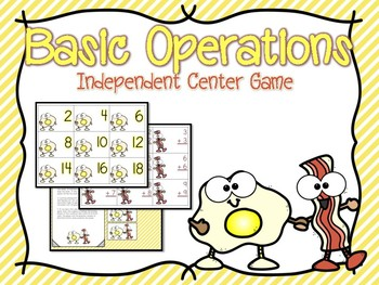Basic Operations Independent Center Game #2