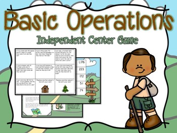 Basic Operations Independent Center Game #3