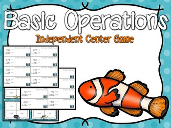 Basic Operations Independent Center Game #5
