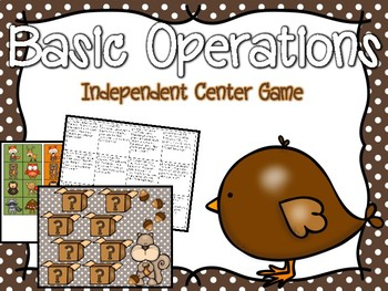 Basic Operations Independent Center Game #7