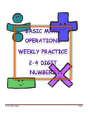 Basic Operations Practice