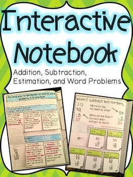 Basic Operations & Word Problems Interactive Notebook