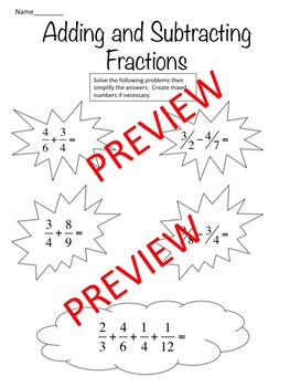 Basic Operations with fractions, decimals and integers