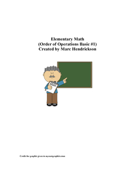 Basic Order of Operations with PEMDAS