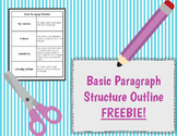 Basic Paragraph Structure Outline
