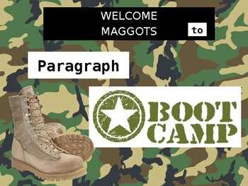 Basic Paragraph Training and Test for Middle Schoolers