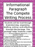 Basic Paragraph Writing- The Entire Writing Process