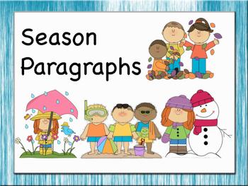 Beginner Paragraphs - Season theme