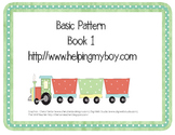 Basic Pattern Trains Book 1 for Special Needs, ABA