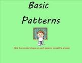 Basic Patterns - Smartboard