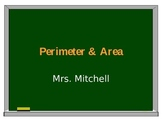 Basic Perimeter and Area PowerPoint