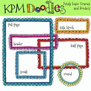 Basic Petals Frames and Borders