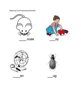 Basic Phonics Assessment for Kindergarten
