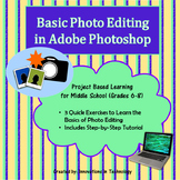 Basic Photo Editing in Adobe Photoshop