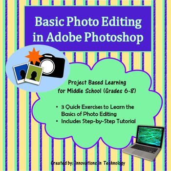 Basic Photo Editing in Adobe Photoshop