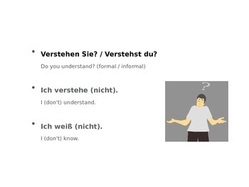 Basic Phrases in German