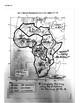 Basic Physical Features of Sub-Saharan Africa Map, Directi